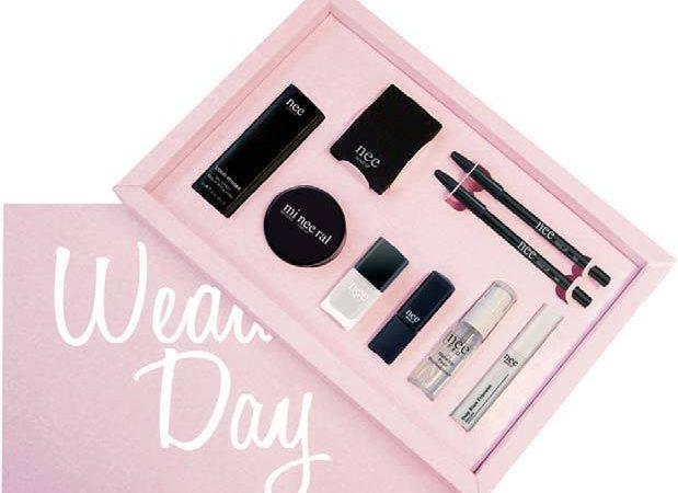 Διαγωνισμός με δώρο Wedding box με 9 μοναδικά προιόντα από την Nee Makeup MIlano