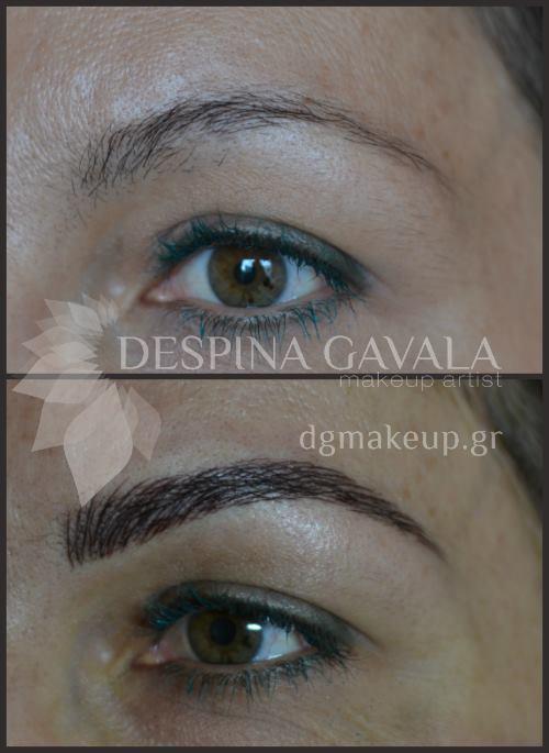 semipermanent brows