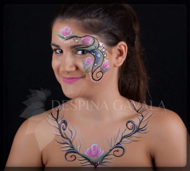 facepainting bodypainting