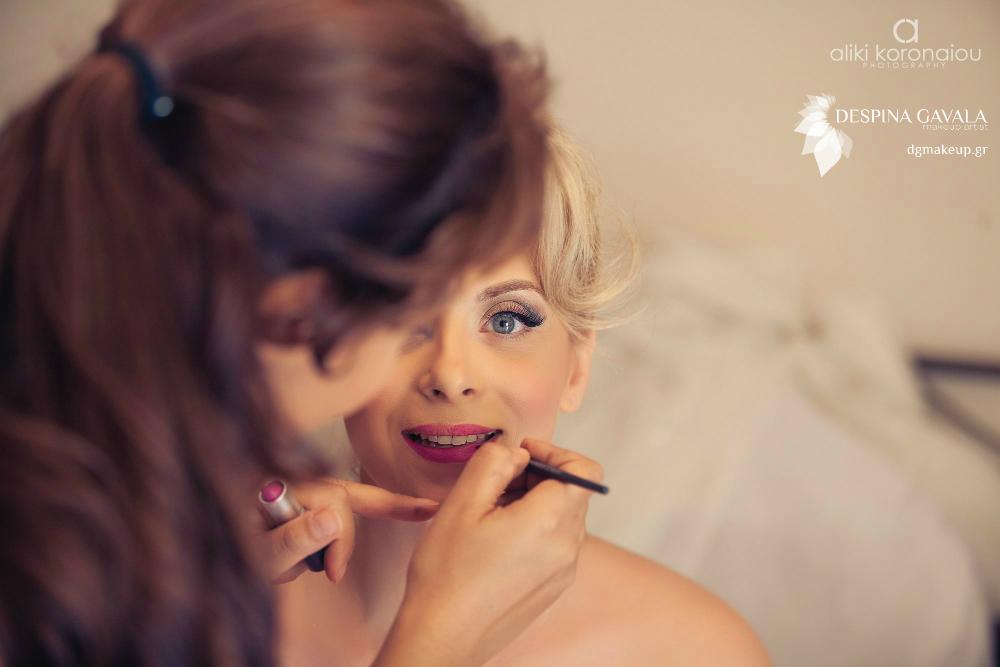 Νυφικό Μακιγιάζ Νύφη Γάμος
